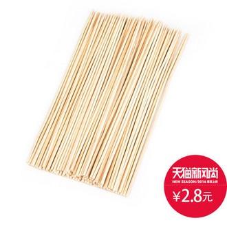千尚 烧烤炉专用竹签2包170根