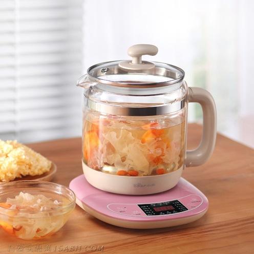 小熊全自动养生壶加厚玻璃,家用煮茶器