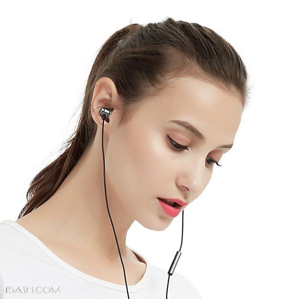 英菲克in6重低音线控耳机,全金属腔体入耳式耳塞