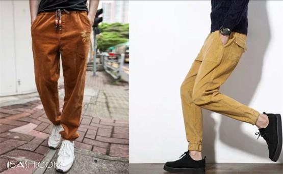运动休闲风-今年超火的复古单品,灯芯绒裤了解一下!