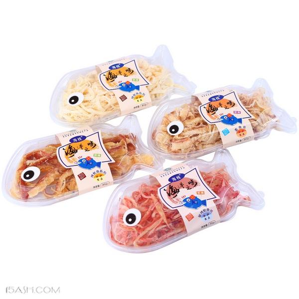 海栈青岛特产鱿鱼丝墨鱼丝零食