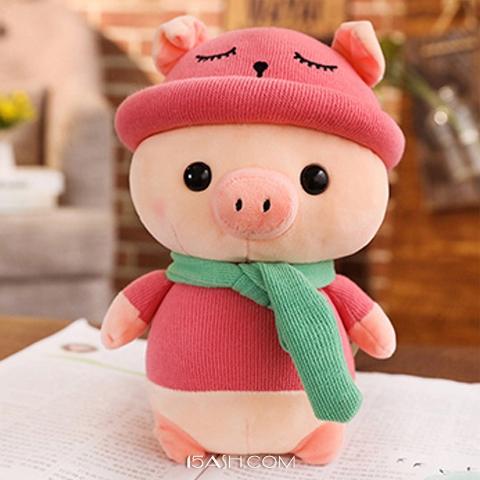 2019年猪年吉祥物猪公仔,新年的好礼物