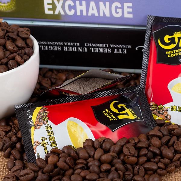 越南g7原味条装50包800g咖啡