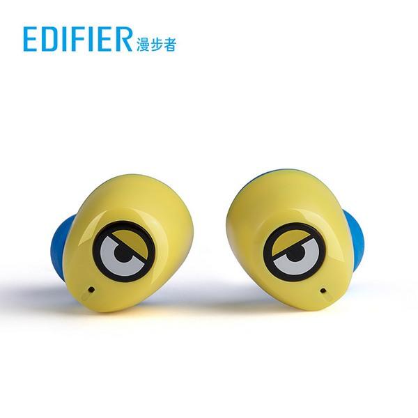 漫步者W3小黄人真无线蓝牙耳机