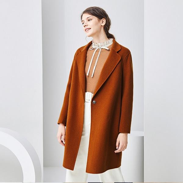 做格调女神,高梵双面绒羊毛大衣