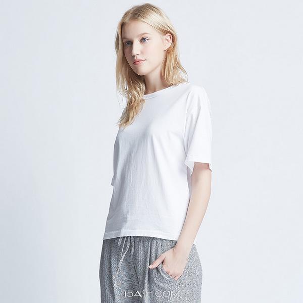 马威T恤女纯棉夏短袖