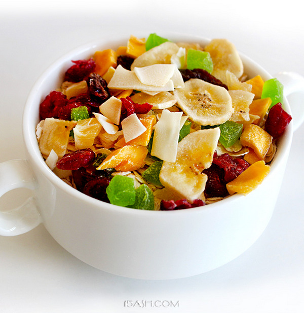九州树叶即食早餐坚果混合装麦片500g